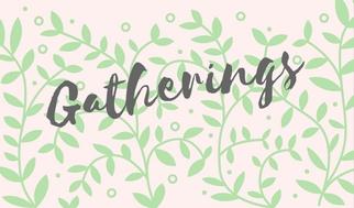 Gatherings on Sacred Days