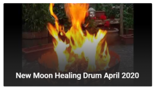 New Moon Healing Drum Rachel Keene