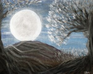Moonblossom by Rachel Fowler-Keene available as download or print